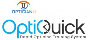 optician training logo
