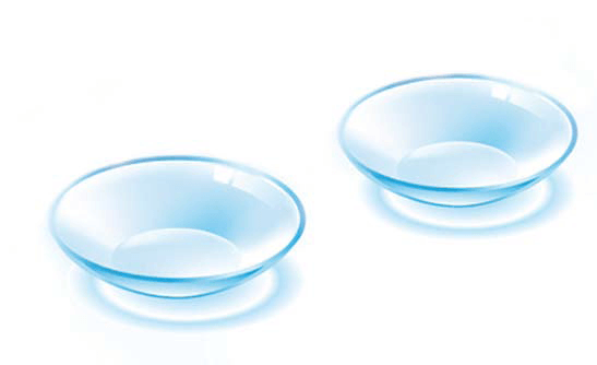 contact lens packages